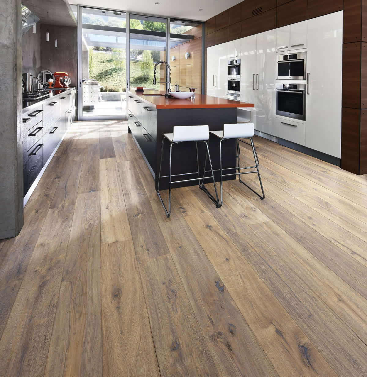 Kahrs artisan oak concrete for Kahrs flooring