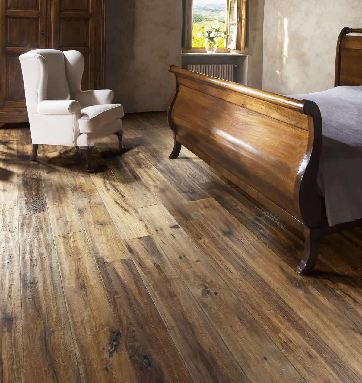 Kahrs artisan oak earth engineered wood flooring for Engineered oak flooring
