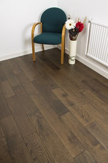 Natura 150mm Fumed Antique Oak Solid Wood Flooring