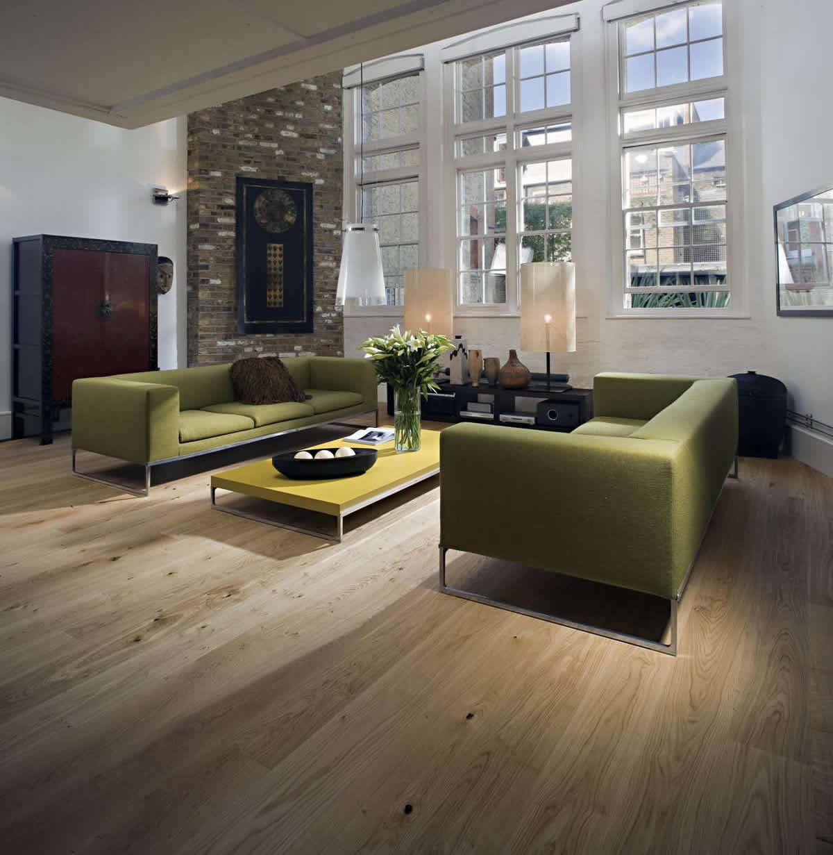 floor flooring lacquered matt oak wood engineered terra kahrs