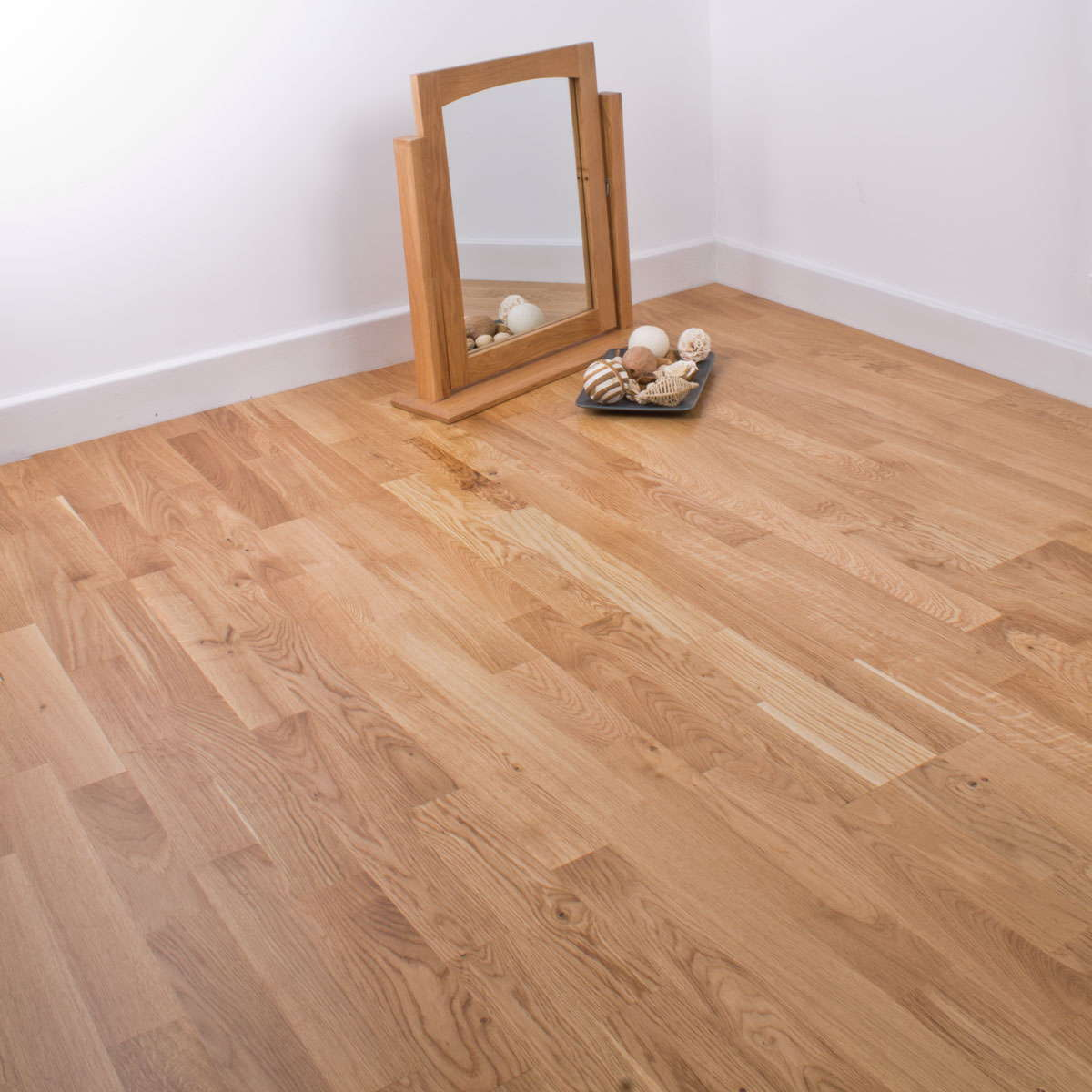 Natura oak kerry engineered wood flooring for Engineered oak flooring