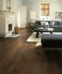 Kahrs Oak Nouveau Brown Engineered Wood Flooring
