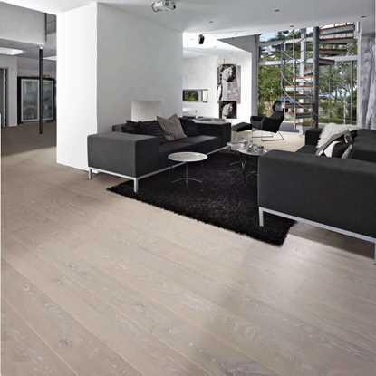 Kahrs Oak Nouveau Snow Engineered Wood Flooring