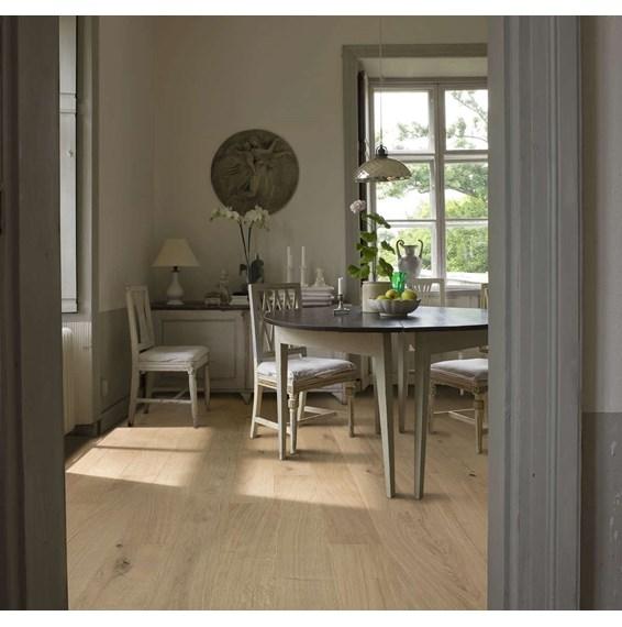 Kahrs Oak Nouveau White Engineered Wood Flooring