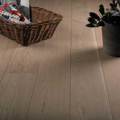 Natura Oak Ironbark Raw Engineered Wood Flooring