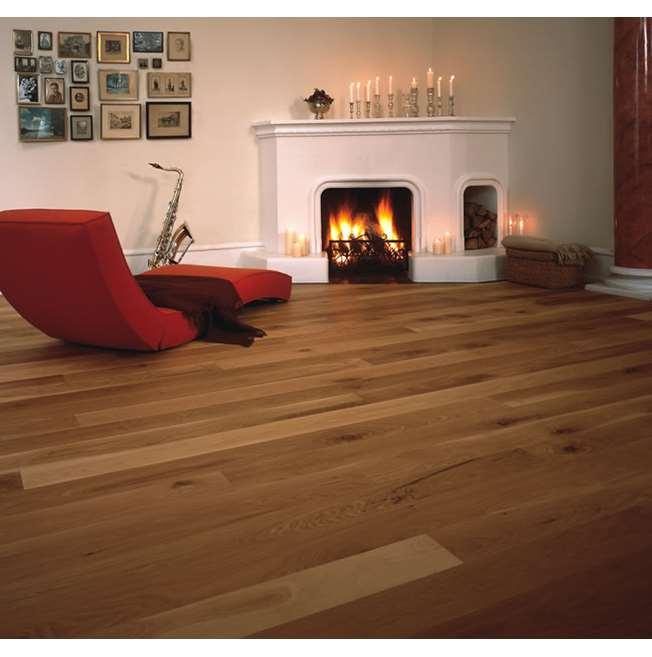 Junckers Plank 15mm Oak Variation Solid Wood Flooring