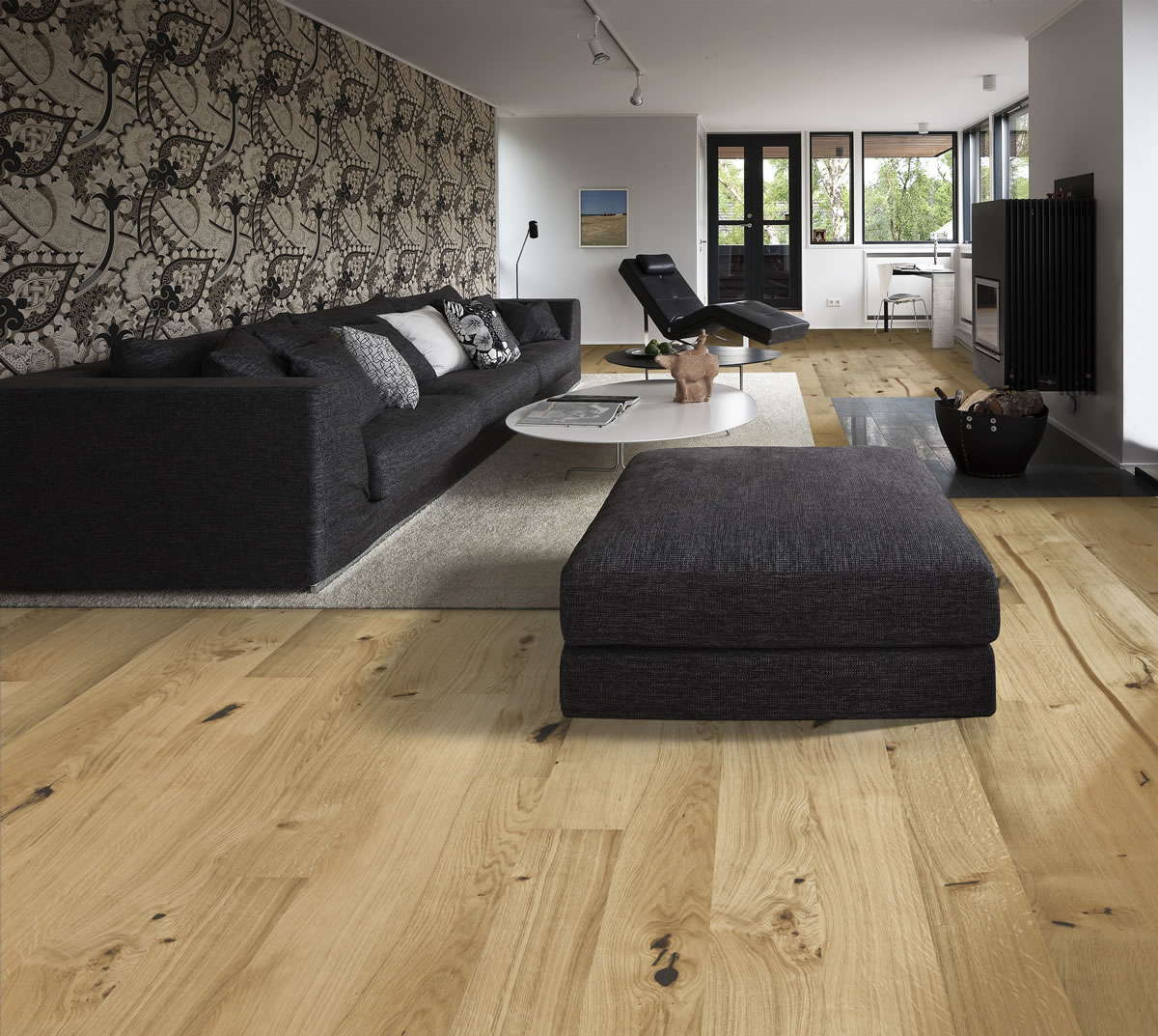 kahrs linnea oak village engineered wood flooring. Black Bedroom Furniture Sets. Home Design Ideas