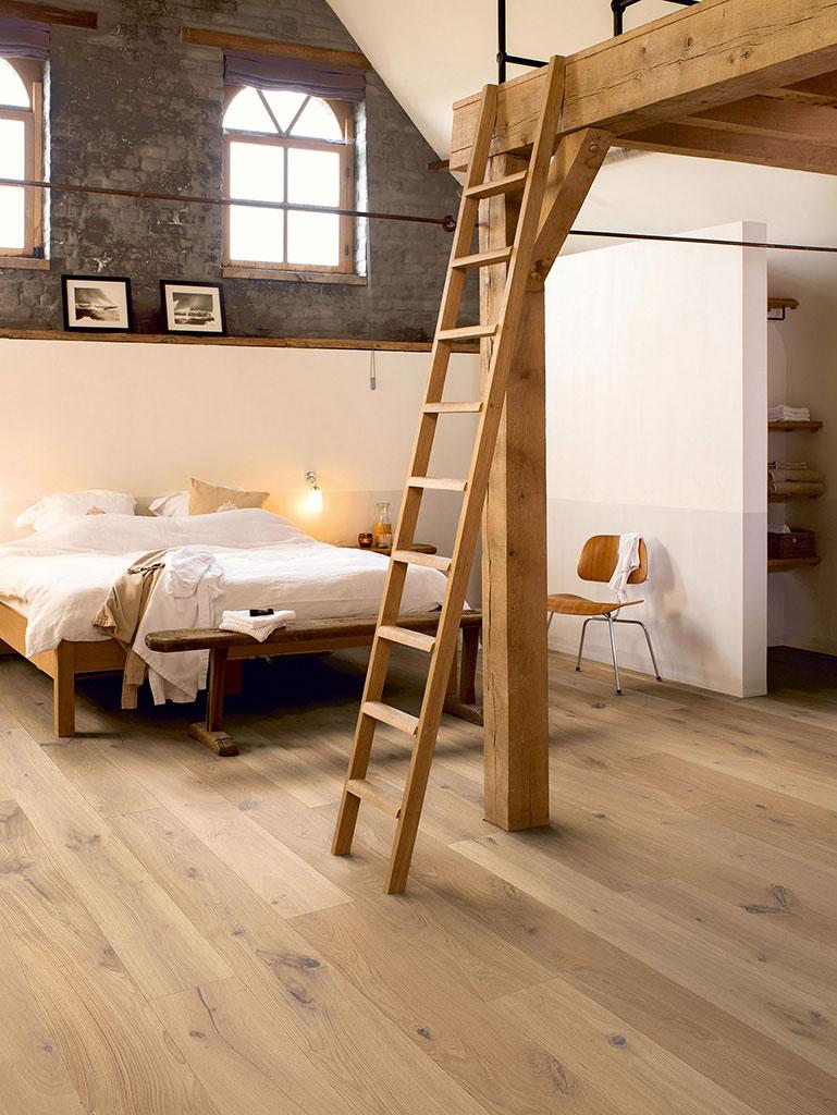 Quickstep palazzo country raw oak extra matt pal3097s - Parquet de madera natural ...