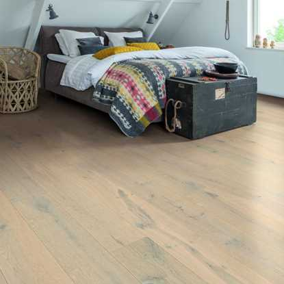 Quickstep Palazzo Glacial Oak Extra Matt PAL3787S Engineered Wood Flooring