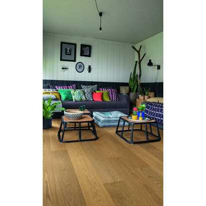 Quickstep Palazzo Ginger Bread Oak Extra Matt PAL3888S Engineered Wood Flooring