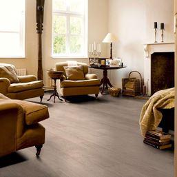 Quickstep Classic Bleached White Oak CLM1291 Laminate Flooring