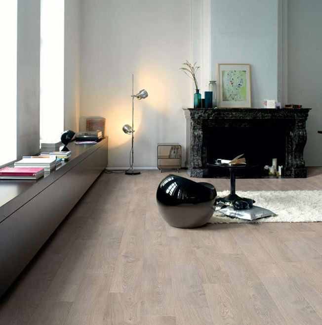 Quickstep Classic Old Oak Light Grey CLM1405 Laminate Flooring