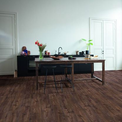 Quickstep Alpha Autumn Oak Chocolate Vinyl Flooring