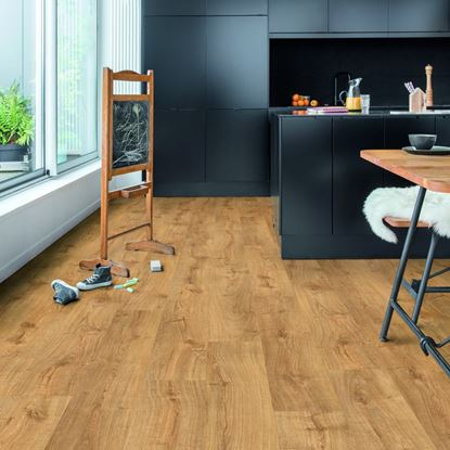 Quickstep Alpha Autumn Oak Honey Vinyl Flooring