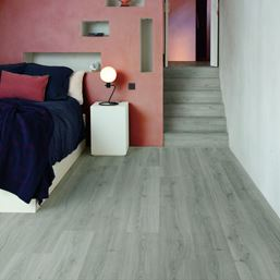 Quickstep Alpha Botanic Grey Vinyl Flooring