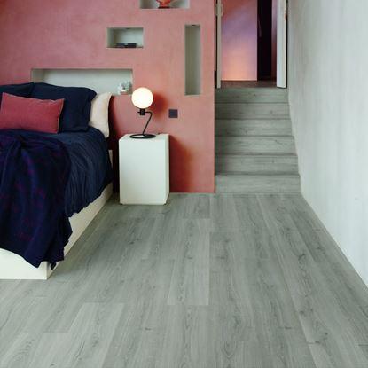 Quickstep Alpha Botanic Grey Vinyl Flooring