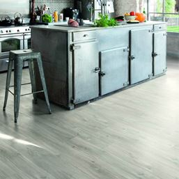 Quickstep Alpha Canyon Oak Grey with sawcuts Vinyl Flooring