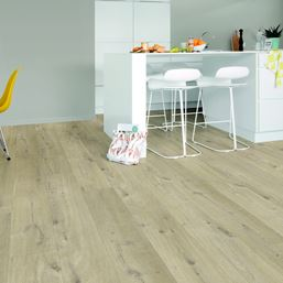 Quickstep Alpha Cotton Oak Beige Vinyl Flooring