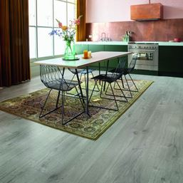 Quickstep Alpha Cotton Oak Cold Grey Vinyl Flooring