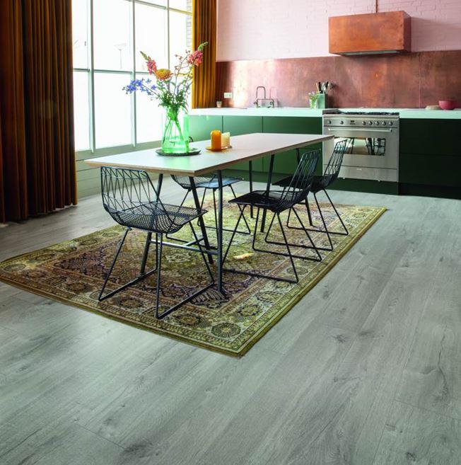 Quickstep Alpha Cotton Oak Cold Grey Vinyl Flooring