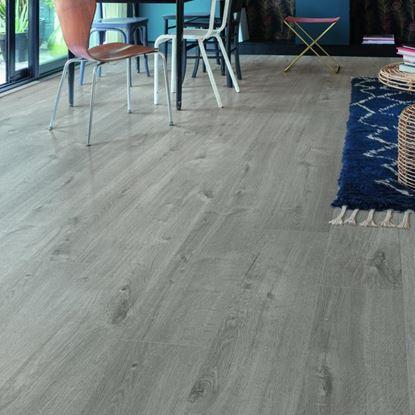Quickstep Alpha Cotton Oak Cozy Grey Vinyl Flooring