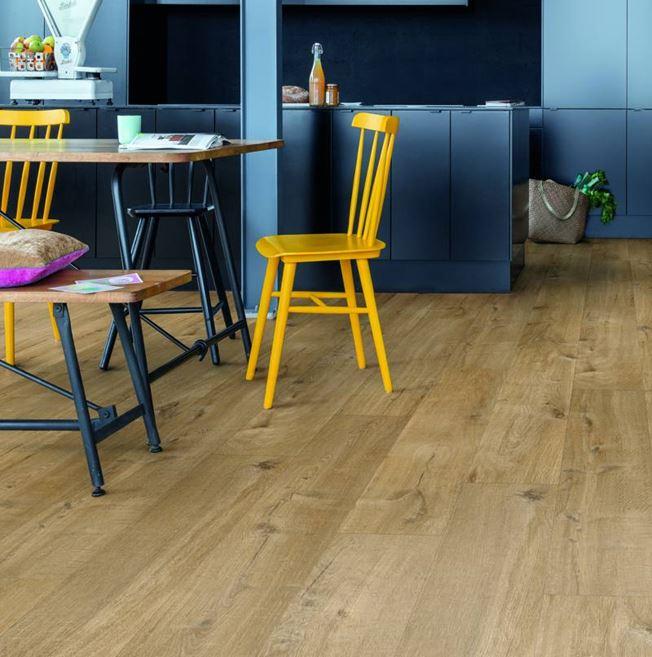 Quickstep Alpha Cotton Oak Natural Vinyl Flooring