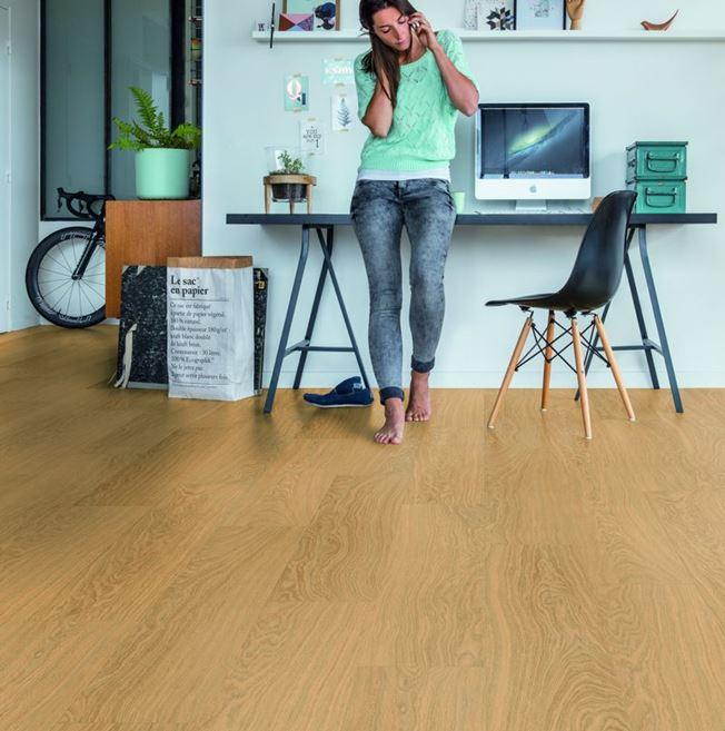 Quickstep Alpha Pure Oak Honey Vinyl Flooring