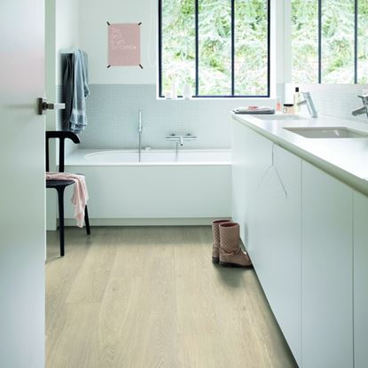 Quickstep Alpha Sea Breeze Oak Beige Vinyl Flooring