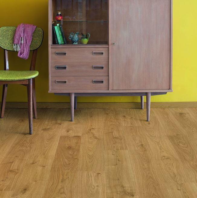 Quickstep Eligna White Oak Light Natural EL1491 Laminate Flooring