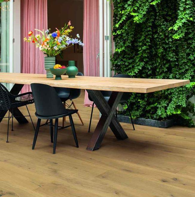 Quickstep Palazzo Warm Natural Oak PAL5237S Engineered Wood Flooring