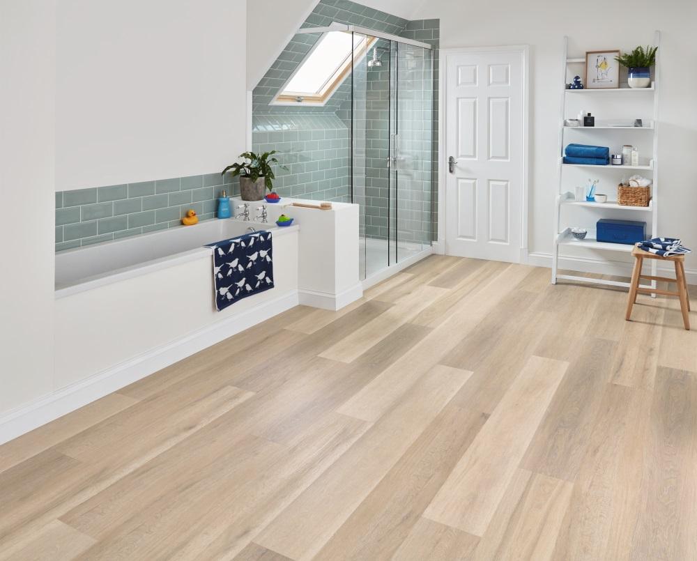 Karndean korlok texas white ash rkp8105 vinyl flooring for White ash flooring