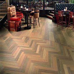 Karndean Art Select Prairie Oak Herringbone SM-RL20 Vinyl Flooring