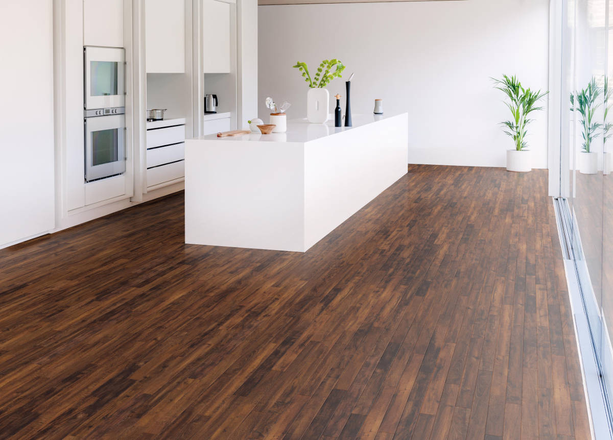 Vinyl Flooring For Kitchen Floors : Karndean da vinci double smoked acacia rp vinyl flooring