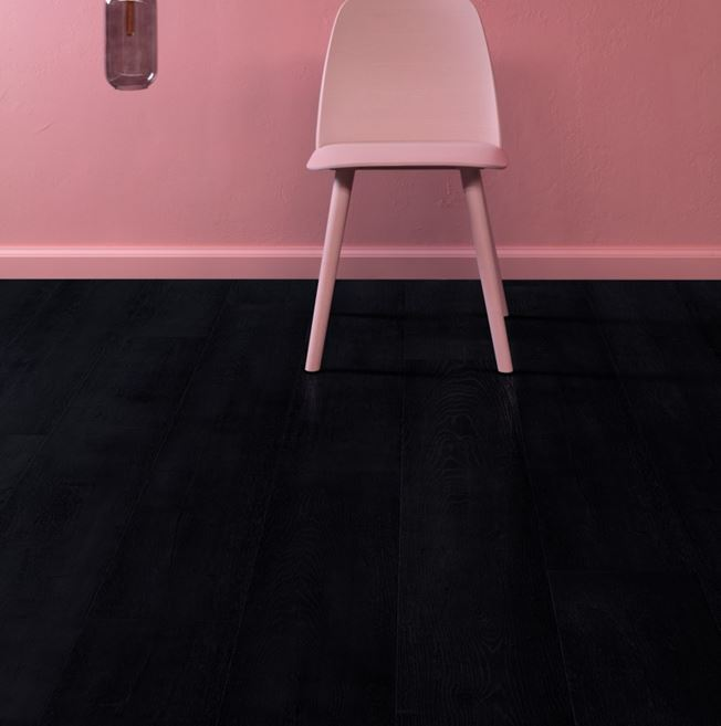 Quickstep Signature Painted Oak Black SIG4755 Laminate Flooring