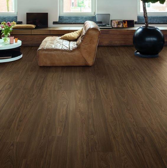Quickstep Signature Chic Walnut Sig4761, Quickstep Walnut Laminate Flooring