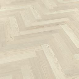 Karndean Knight Tile Washed Scandi Pine SM-KP132 Parquet Vinyl Flooring