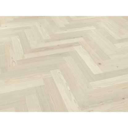 Karndean Knight Tile Washed Scandi Pine Herringbone SM-KP132 Vinyl Flooring