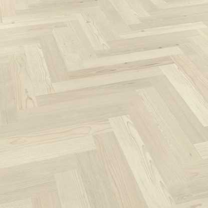 Karndean Knight Tile Washed Scandi Pine Herringbone SM-KP132 Vinyl Flooring