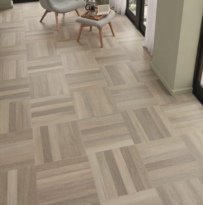 Karndean Art Select Glacier Oak Herringbone SM-RL21 Vinyl Flooring