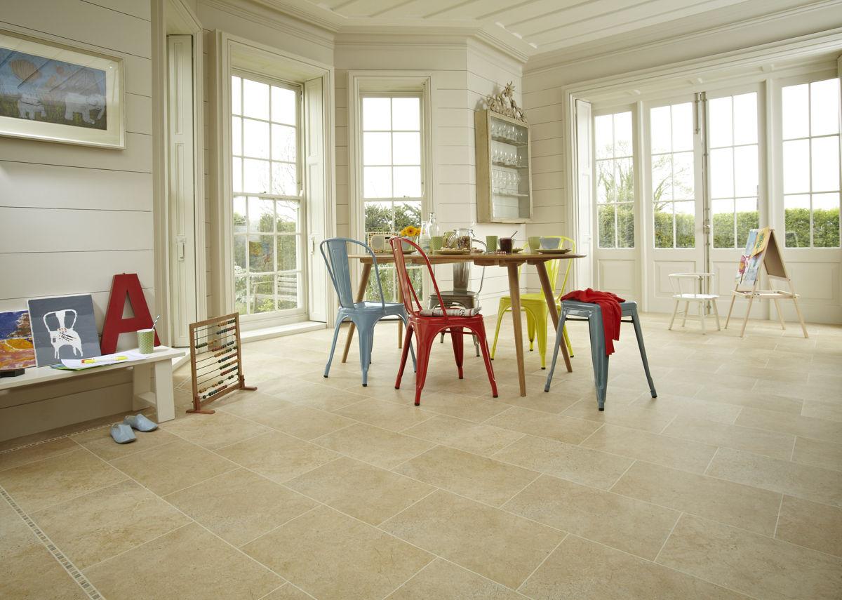 Karndean Kitchen Flooring Knight Tile York Stone St11 Vinyl Flooring