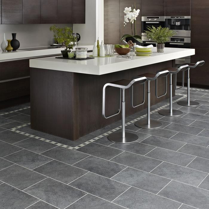 Tile For Kitchen Floor: Karndean Knight Tile Cumbrian Stone ST14 Vinyl Flooring