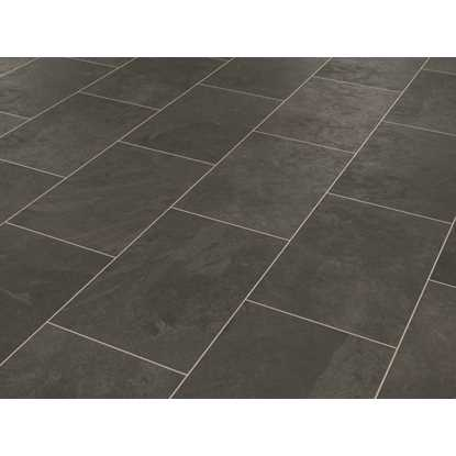 Karndean Knight Tile Black Riven Slate
