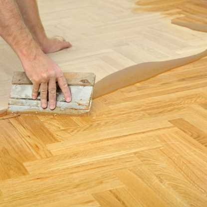 European Solid Oak Prime Parquet Unfinished Flooring