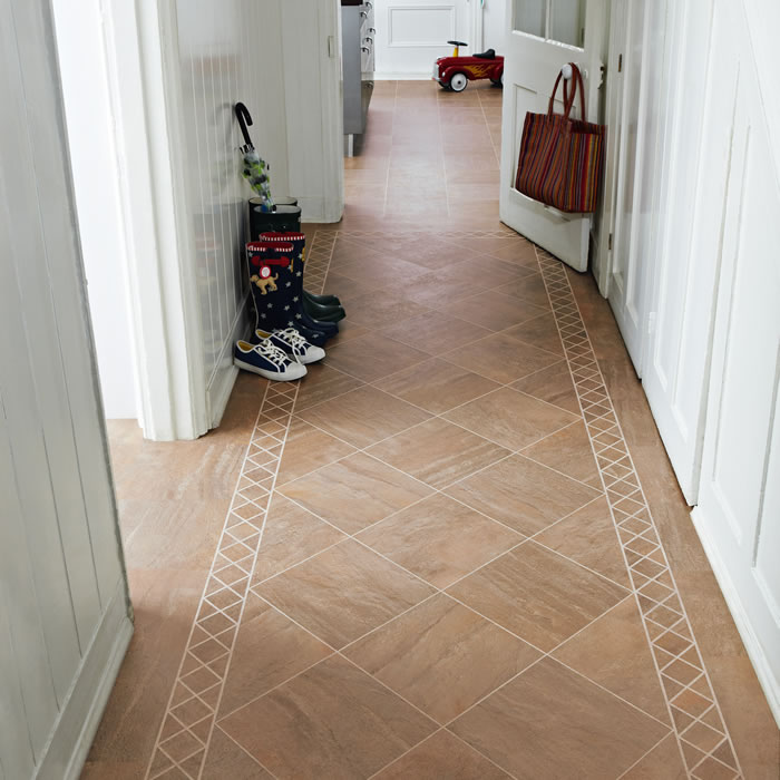 Hall tile ideas joy studio design gallery best design for Tiled hallway floor ideas