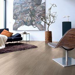 Quickstep Eligna Light Grey Varnished Oak EL1304 Laminate Flooring