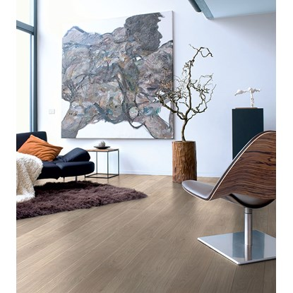 Quickstep Elite Grey Varnished Oak UE1304 Laminate Flooring