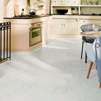 Quickstep Arte Carrara Tile UF1400 Laminate Flooring