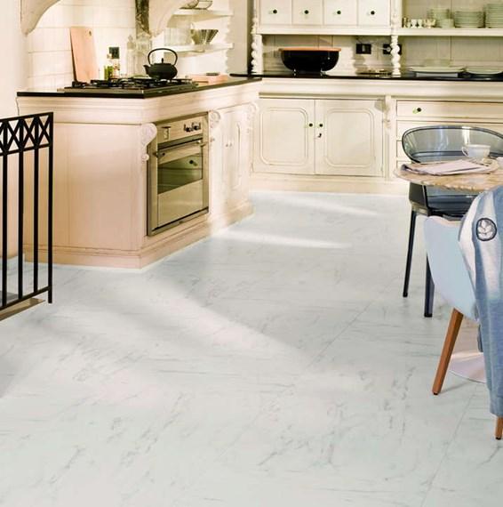 Quickstep Arte Carrara Tile Uf1400 Laminate Flooring