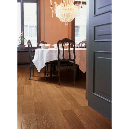 Quickstep Perspective Dark Varnished Oak UF918 Laminate Flooring