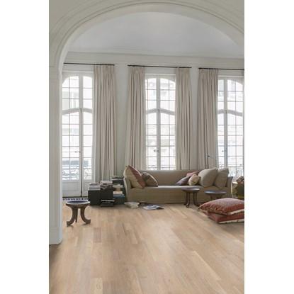 Quickstep Variano Seashell White Oak Extra Matt VAR3101 Engineered Wood Flooring